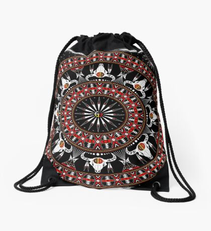 Buffalo Spirit  Drawstring Bag