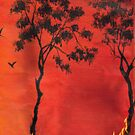 Bush fire by sweetscent62