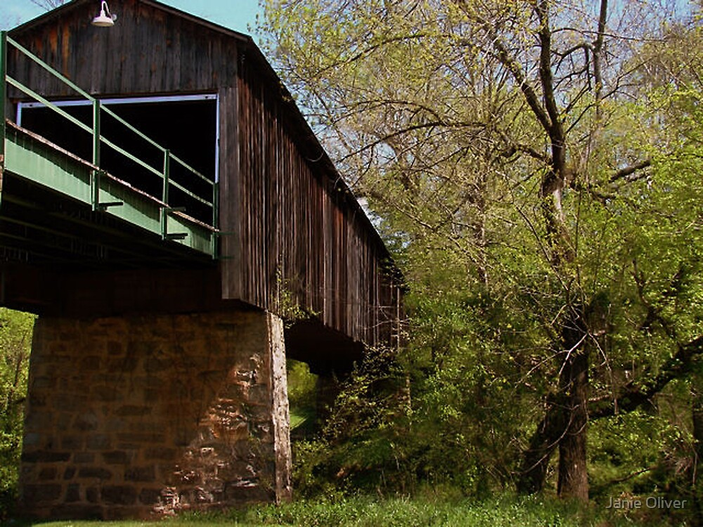 Euharlee Covered Bridge by Janie Oliver
