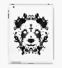 Panda Rorschach iPad Case/Skin