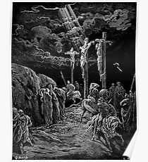 Gustave Dore, The Crucifixion, Bible, Biblical, Christ, Crucify Poster