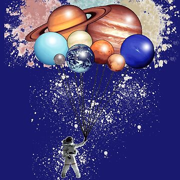 Splatered Happily Spaceman Trip by lycorisium