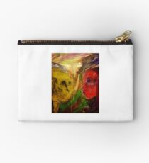 Figurative expressionist painting Studio Pouch