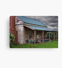 0592 Farmhouse Porch - Lancefield Canvas Print