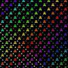 Rainbow Bones by MoksArtMart