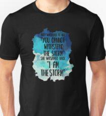 She Whispered I Am The Storm Novelty Unisex T-Shirt
