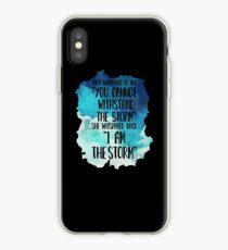 She Whispered I Am The Storm Novelty iPhone Case