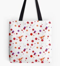 Abstract seamless pattern with circles and lines Tote Bag