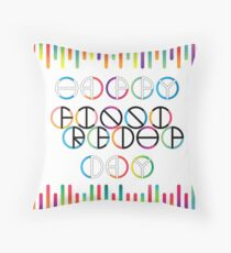 Happy Friendship Day Lettering Throw Pillow
