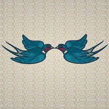 'Kissing Birds' by DExIGN