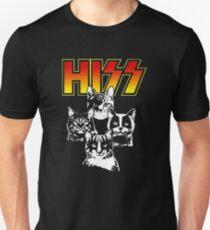 Hiss Kiss Cats Kittens Rock Unisex T-Shirt