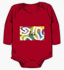Iris -	original artwork to personalize your gift One Piece - Long Sleeve