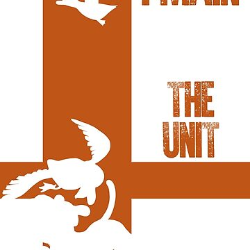 The Unit (White) by sm4shshorts