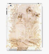 Leonardo da Vinci - flowers iPad Case/Skin