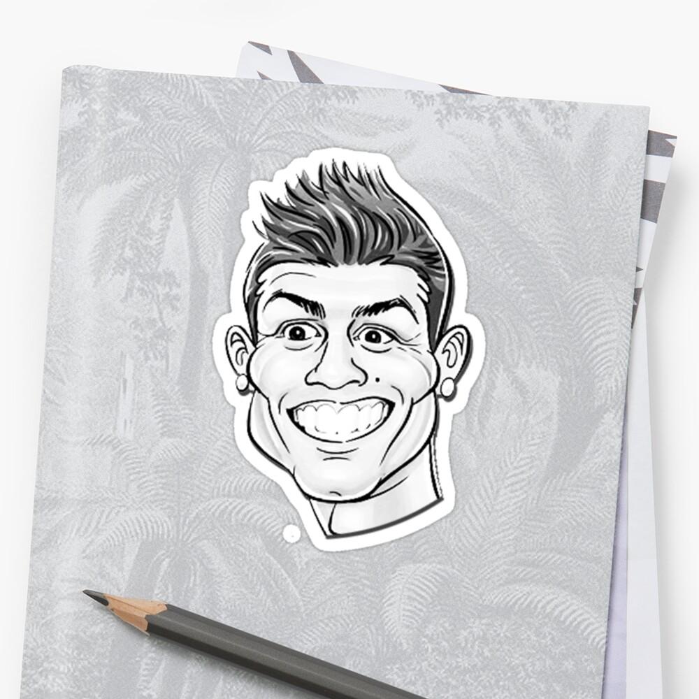 Cristiano ronaldo for funny cr7 sticker