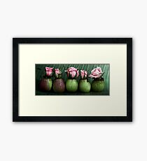cultivated and wild Framed Print