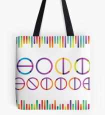Holika festival vector lettering in color transition trend Tote Bag