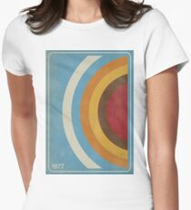 1977 - vintage art Womens Fitted T-Shirt