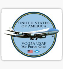 AIR FORCE ONE Sticker