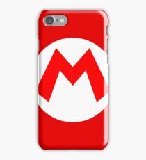 Super Mario Mario Icon iPhone Case/Skin