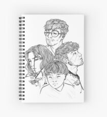 Marauders Spiral Notebook