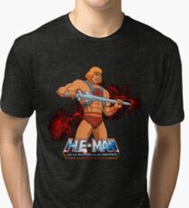 He Man - Masters of the Universe Tri-blend T-Shirt