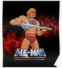He Man - Masters of the Universe Poster