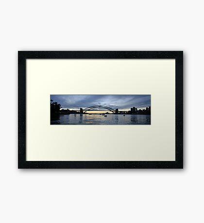The Coat Hanger - Sydney Harbour Bridge, Sydney Australia Framed Print