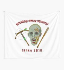 Zombie Wishing Away Summer Since 2010 Wall Tapestry