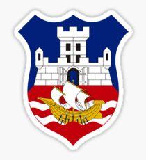 Coat of Arms of Belgrade, Serbia Sticker
