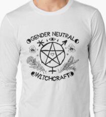 Gender Neutral Witchcraft (black) Long Sleeve T-Shirt
