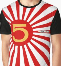 Speed Racer Rising Sun Graphic T-Shirt