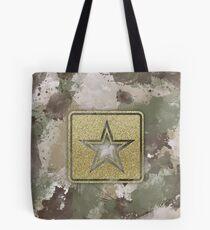 Army MultiCam Inspired Splatter Tote Bag