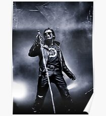 The Sisters of Mercy - Andrew Eldritch Poster