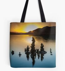Crummock Stone Sculpture Tote Bag