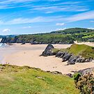 Three cliffs Bay    South Wales by DebbyScott