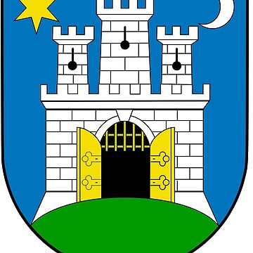 Coat of Arms of Zagreb, Croatia by Tonbbo