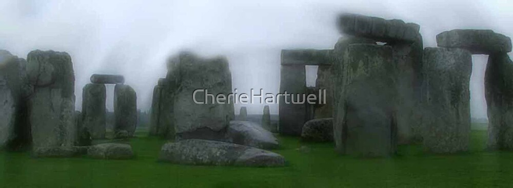 Stormy Stonehenge, Wiltshire, England by CherieHartwell