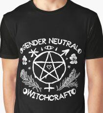 Gender Neutral Witchcraft (white) Graphic T-Shirt