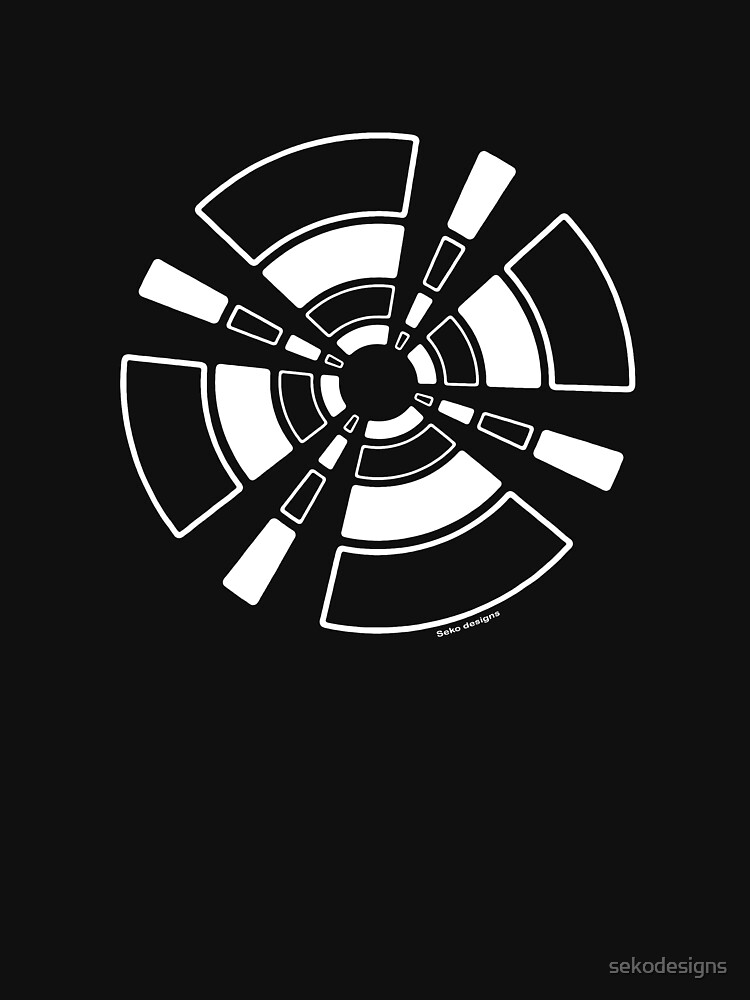 Mandala 24 Simply White by sekodesigns