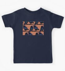 Orange Crows Kids Clothes