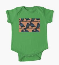Orange Crows Kids Clothes