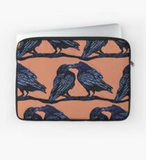 Orange Crows Laptop Sleeve
