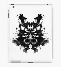 Samurai Rorscharch iPad Case/Skin
