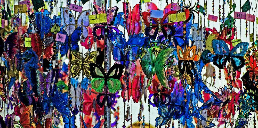 butterflies by Courtney Goddard