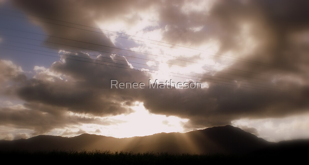 heaven shining down - in loving memory on Vince Neeson RIP 22-03-2008 by Renee Matheson