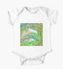 Beautiful landscape cave painting Kids Clothes