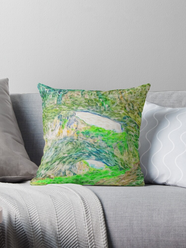 Beautiful landscape cave painting by love999