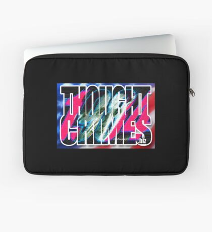 Thought Crimes Laptop Sleeve