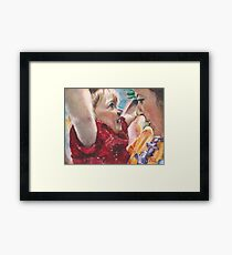 Lilo-Belle and Laurie Framed Print
